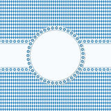 banner and patch on Oktoberfest background Royalty Free Stock Photo