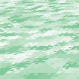 Banner perspectief van de Achtergrond de Groene Raadselfiguurzaag stock illustratie