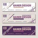 Banner product campaign design vector royalty free illustration