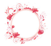 Banner with red rose Royalty Free Stock Image