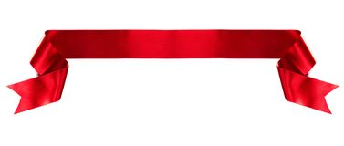 Banner ribbon on white Stock Image