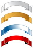 Banner ribbons Royalty Free Stock Photo