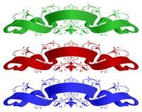 Banner ribbons Royalty Free Stock Photos