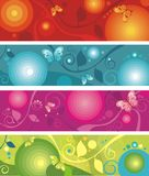 Banner set Stock Photos