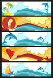 Banner set royalty free illustration