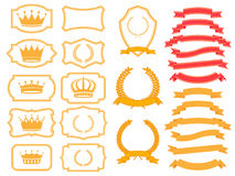 Banner set Royalty Free Stock Images