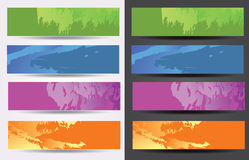 Banner set Stock Image