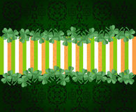 Banner st patrick´s day. Header, card or banner for st patrick´s day Royalty Free Stock Images