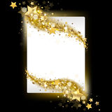Banner with stars Stock Photography