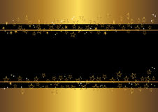 Banner with stars. vector. Royalty Free Stock Photos