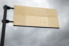 banner street Zdjęcia Stock