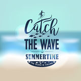 Banner for summer beach vacation Royalty Free Stock Image