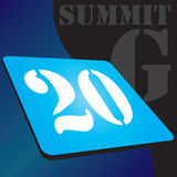 Banner for Summit G Stock Image