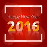 banner szczęśliwego nowego roku Obrazy Stock