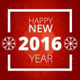 banner szczęśliwego nowego roku Zdjęcie Stock