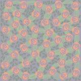 banner tła kwiaty form różowego spiralę trochę Zdjęcie Stock