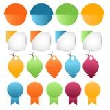 Banner,tag,label,ribbon,badge,frame or header set Stock Photos