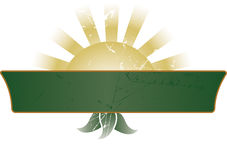 Banner/Teken royalty-vrije illustratie
