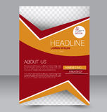 Banner template. Abstract background for design Royalty Free Stock Photo