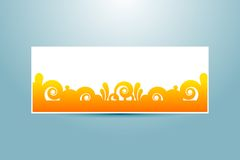 Banner template Royalty Free Stock Photos