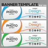 Banner Template for business designe. Vector abstract geometric design banner Web Template banner background and banner Collection for Business Designs Stock Photo