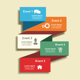 Banner template with place for your text. Vector Royalty Free Stock Images