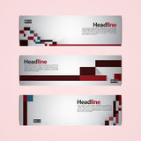 2017 Banner Template. Vector design template for Banner, Ticket, Voucher, Card Stock Images