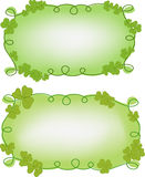 Banner templates for St. Patrick's day Royalty Free Stock Image