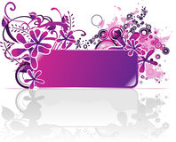 Banner for text Royalty Free Stock Images