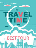 Banner for travel agencies Stock Photography