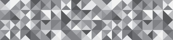 Banner with Triangle Shapes of Different colors. Vector Background stock illustration