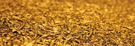 Banner van gouden vormende antiquiteit royalty-vrije stock fotografie