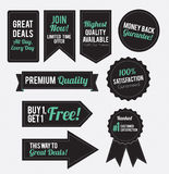 Banner Vectors Royalty Free Stock Image
