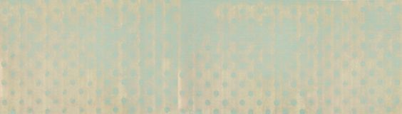 Banner with vintage background - simple polka dot design - web header template Stock Photo