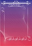 banner voor tekstplaatsing vector illustratie