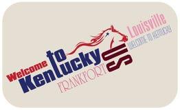 Banner Welcome to Kentucky Stock Photos
