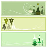 Banner with winter concept Royalty Free Stock Photo