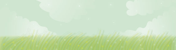 banner wiosna Obrazy Royalty Free