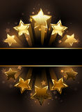 Banner With Five Stars Stock Photos