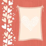Banner With Hearts In Vector Stock Images