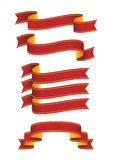 banner zwoje Obrazy Stock