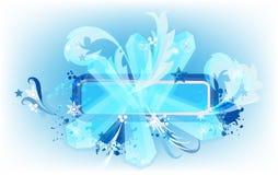 Banner2 des neuen Jahres Lizenzfreies Stockfoto