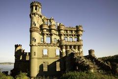 bannerman взгляд со стороны замока Стоковая Фотография