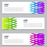 Bannerontwerp met gradiëntkleuren Modern malplaatjeontwerp Eps 10 vector illustratie