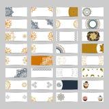 32 bannerreeks stock illustratie