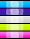 Banners Royalty Free Stock Photography