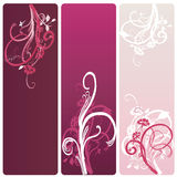 Banners. Set of banners with decorative patterns Stock Images