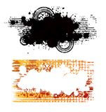 Banners. Two creative design abstract isolated banners Royalty Free Stock Image