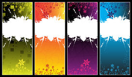 Banners. Colorful banners with place for your text Stock Photo