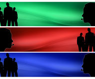 Banners Stock Photography